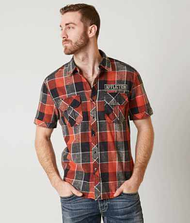 Affliction Black Premium Amber Sunset Shirt