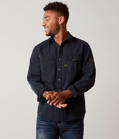 Affliction Black Premium Power of Blue Shirt