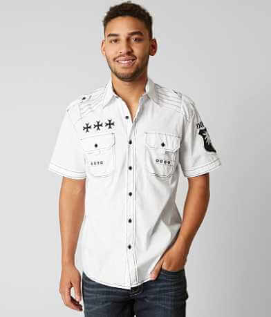 Affliction Black Premium Air Defense Shirt