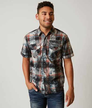 Affliction Black Premium Base Line Shirt