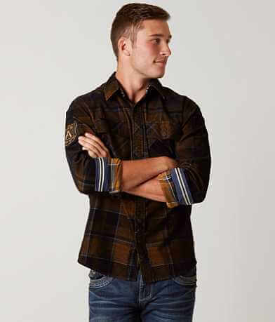 Affliction Black Premium Copper Mountain Shirt