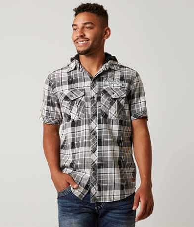 Affliction Black Premium Black Grove Shirt