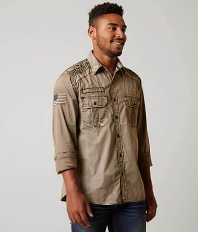 Affliction Black Premium Freedom Defender Shirt