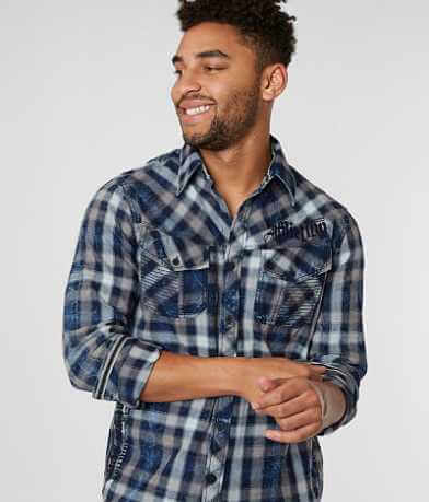 Affliction Burch Flannel Shirt