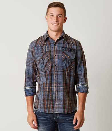 Affliction Blue Falcon Shirt