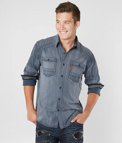 Affliction Black Premium Hell Bound Woven Shirt