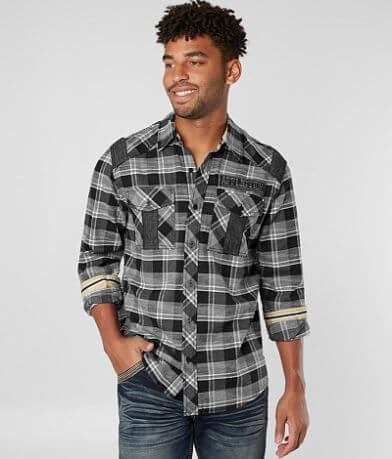Affliction Black Premium Render Shirt
