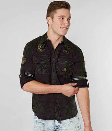 Affliction Foxtrot Stretch Shirt