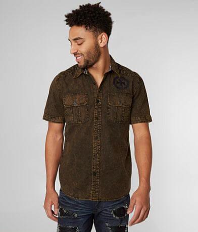 Affliction Black Premium Carerra Shirt
