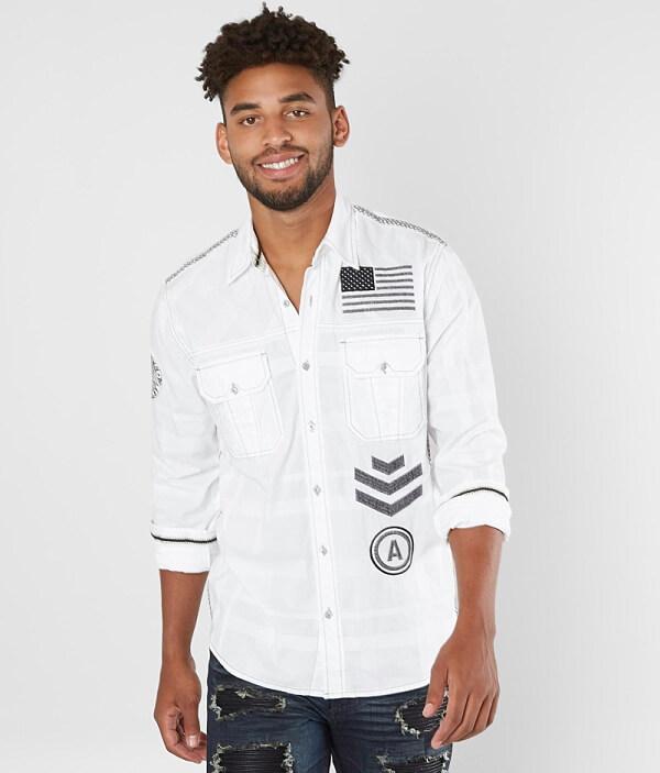 Affliction Stretch Premium Freedom Black Shirt pYqpZrSn