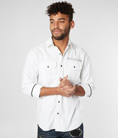 Affliction Discern Woven Shirt