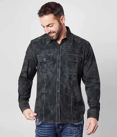 Affliction Rally Stretch Shirt