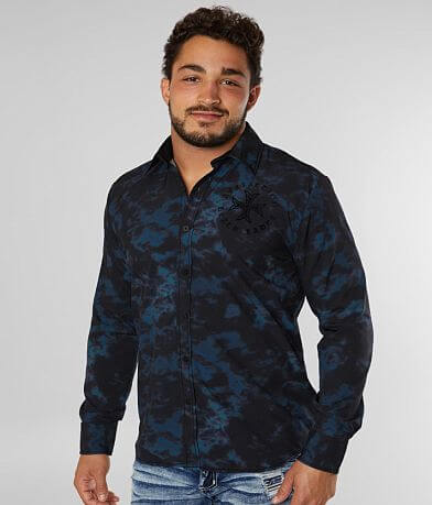 Affliction Titan Stretch Shirt