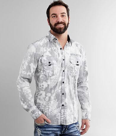 Affliction Infamous Stretch Shirt