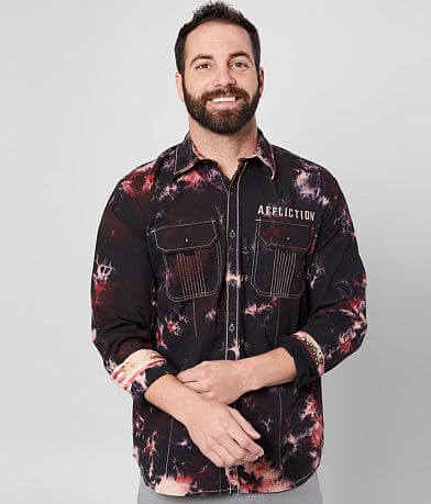 Affliction Freedom Defender Tribute Stretch Shirt