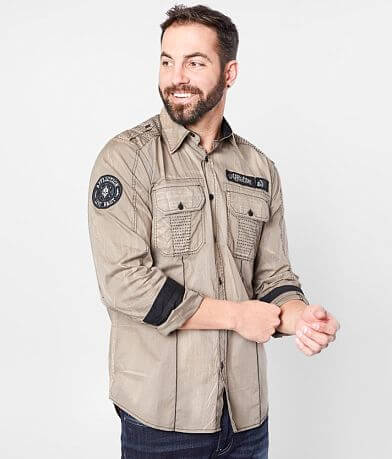 Affliction Profuse Stretch Shirt