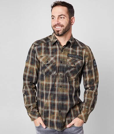Affliction Resonate Woven Shirt