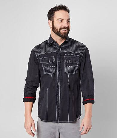 Affliction Cobra Stretch Shirt