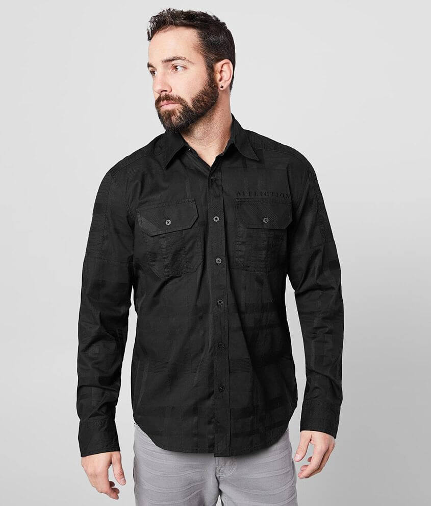 Affliction Lineage Stretch Shirt front view