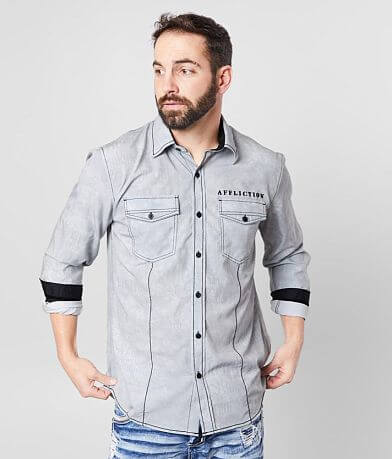 Affliction Tried & True Stretch Shirt