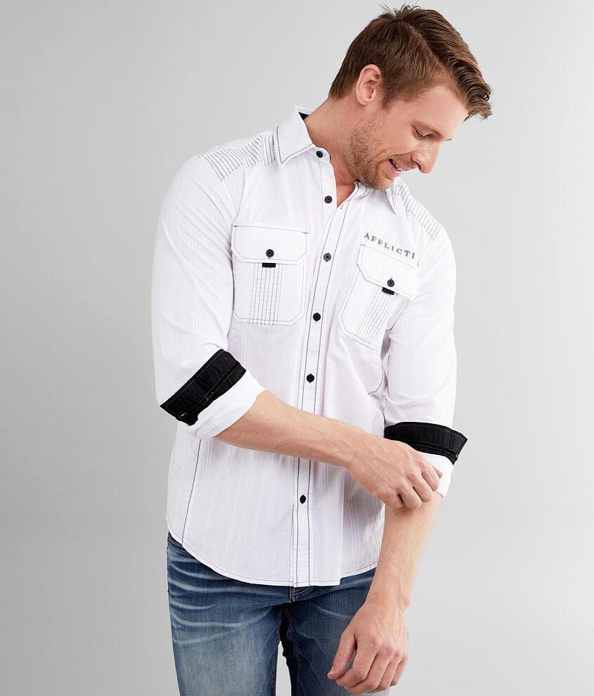 Affliction Wayward Stretch Shirt front view