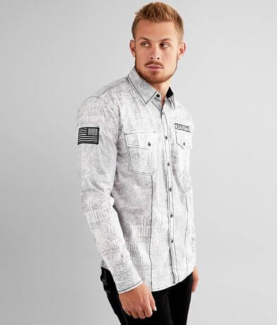 Affliction Alchemist Washed Stretch Shirt