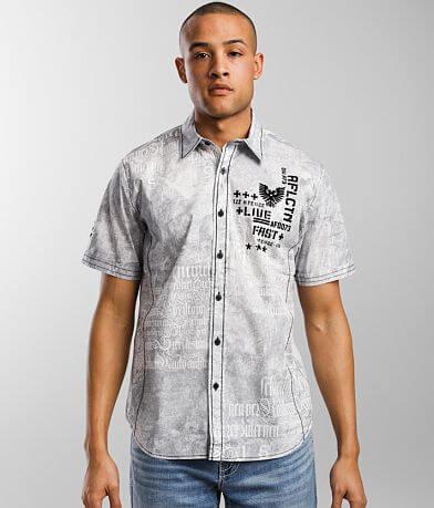 Affliction Division Stretch Shirt