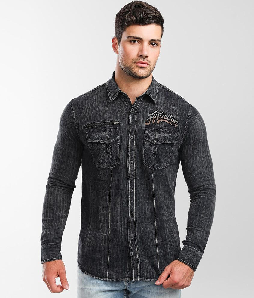 Affliction Ratify Shirt front view