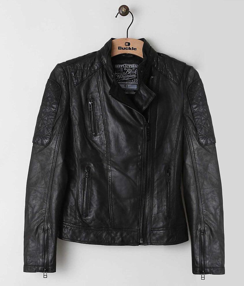 Affliction Black Premium Alexis Jacket front view