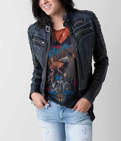 Affliction Black Premium Lethal Attack Jacket