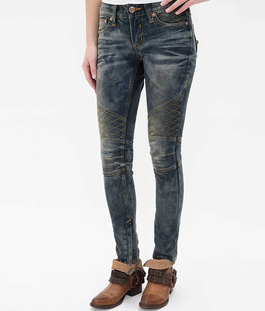 Affliction Raquel Skinny Stretch Jean front view