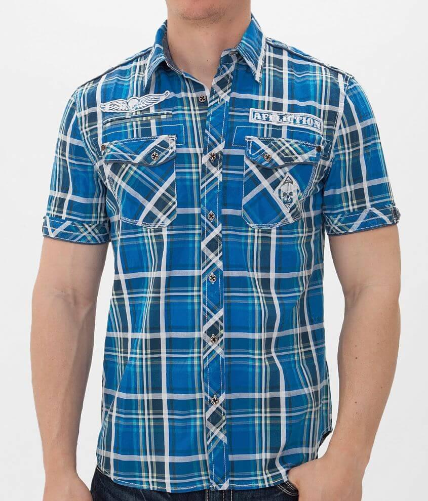 Affliction Black Premium Remastered Shirt front view