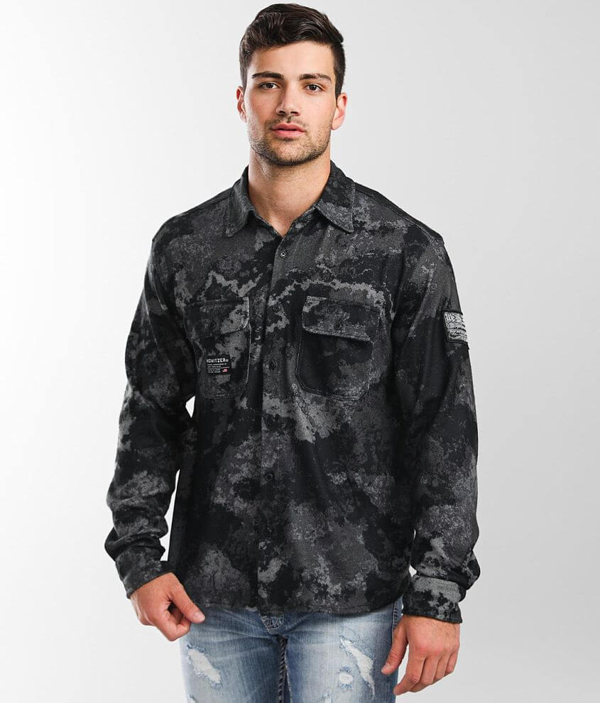 Howitzer Rampart Flannel Shirt front view