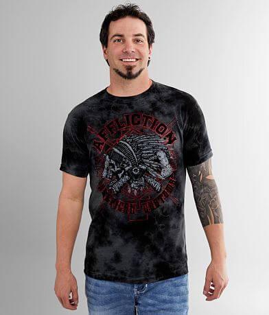 Affliction American Customs Wyoming T-Shirt