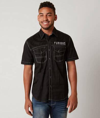 Fast & Furious Black Smoke Shirt