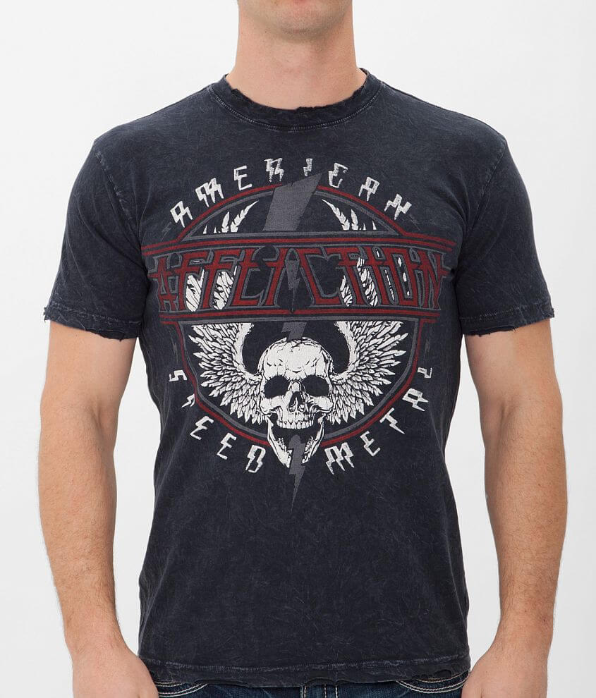 Affliction American Metal Speed Metal T-Shirt front view