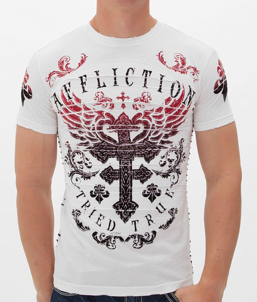 Affliction Encounter T-Shirt front view