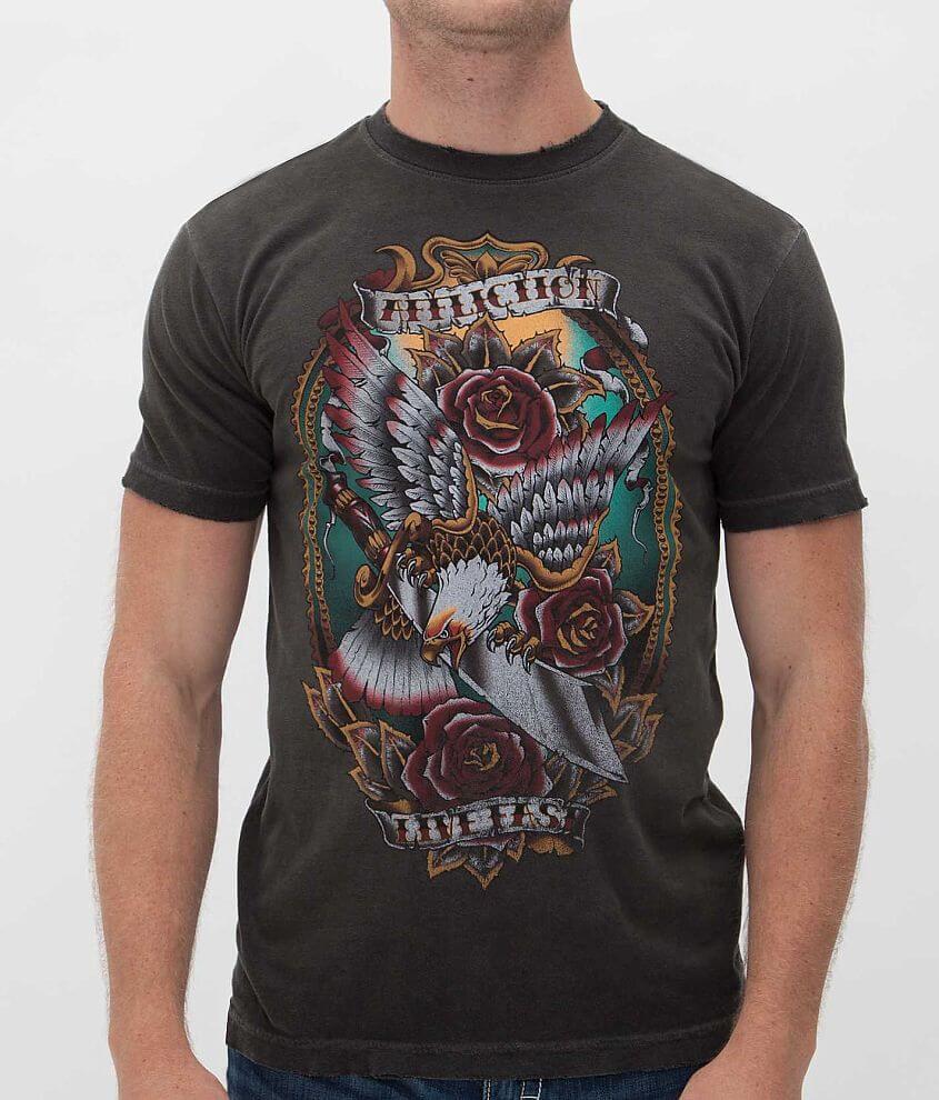 Affliction Inked Slinger T-Shirt front view