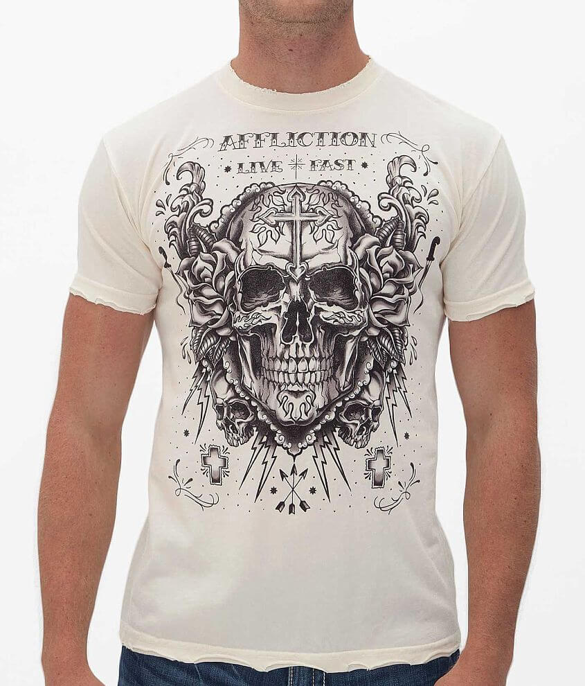 Affliction Inked Decompose T-Shirt front view