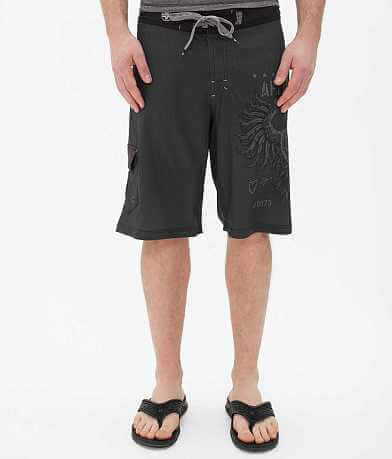 Affliction Black Premium Value Boardshort