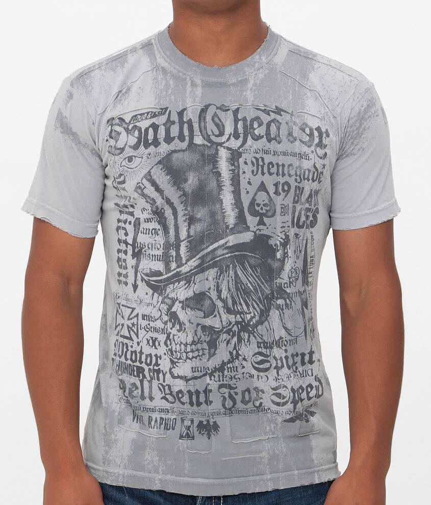 Affliction Death Cheater T-Shirt front view