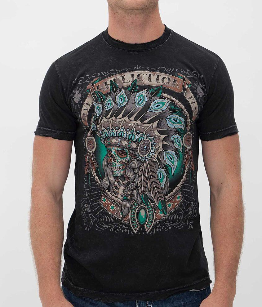 Affliction Inked Zacapu T-Shirt front view