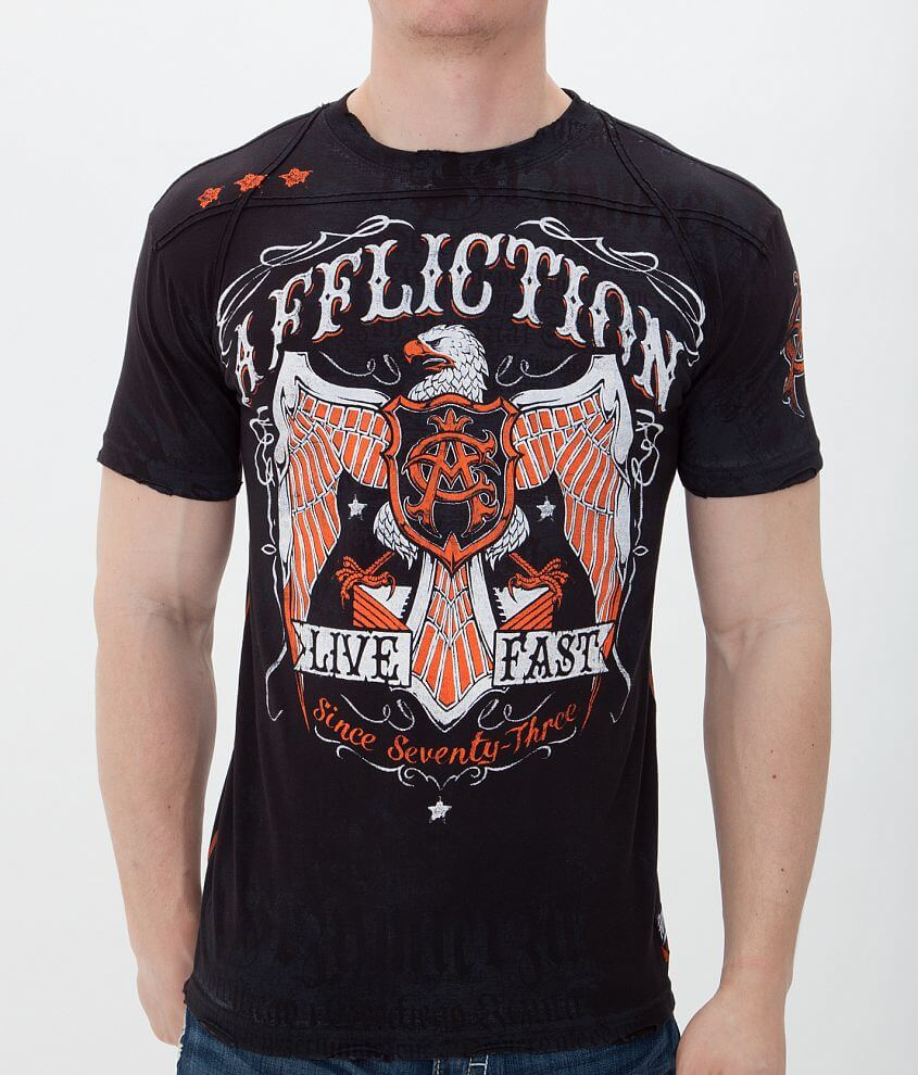 Affliction American Customs Tried True T-Shirt front view