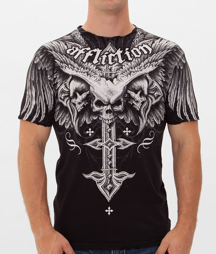 Affliction Death Eyes T Shirt | Top and Clothing