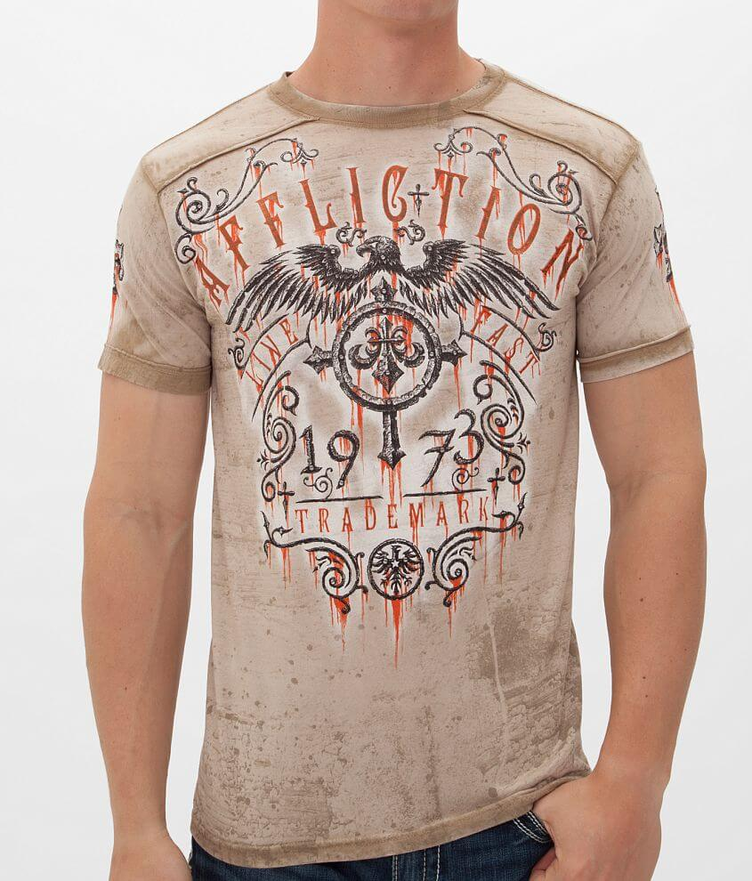 Affliction Condemned T-Shirt front view