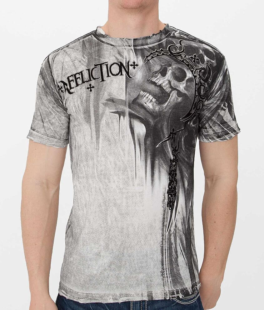 Affliction Ghost Dog T-Shirt front view