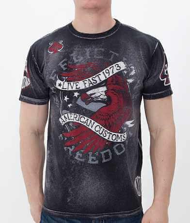 Affliction American Customs Night Strike T-Shirt