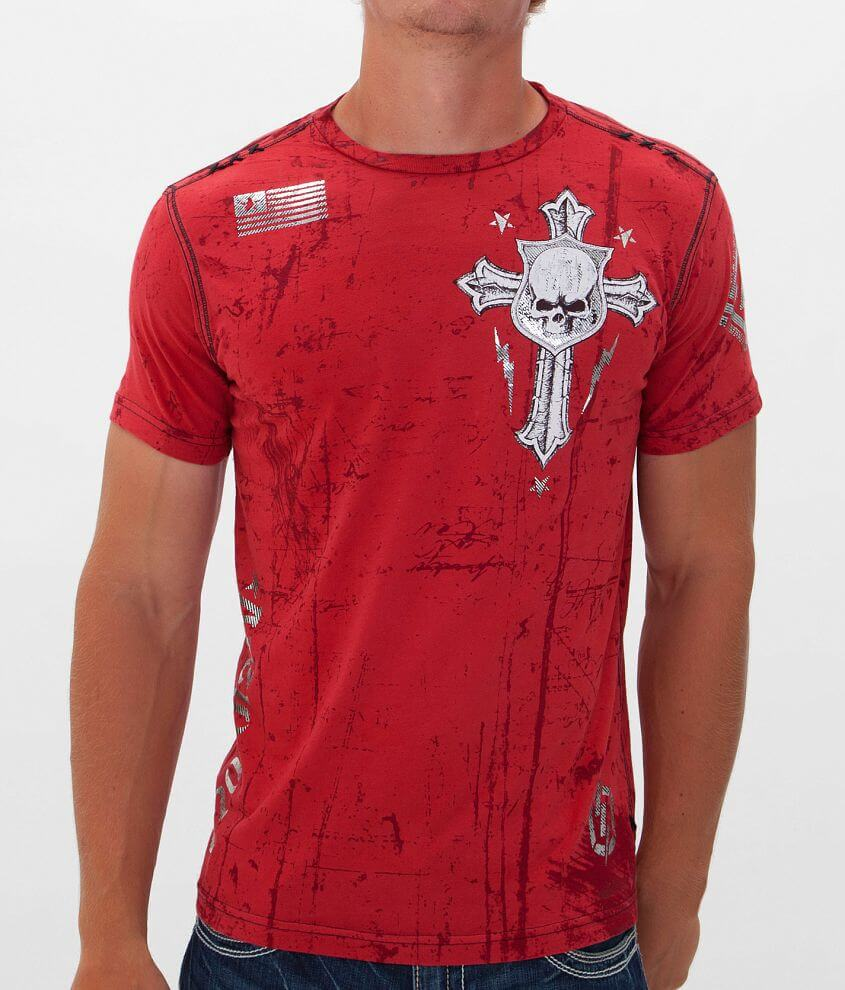 Affliction Napalm Attack T-Shirt front view