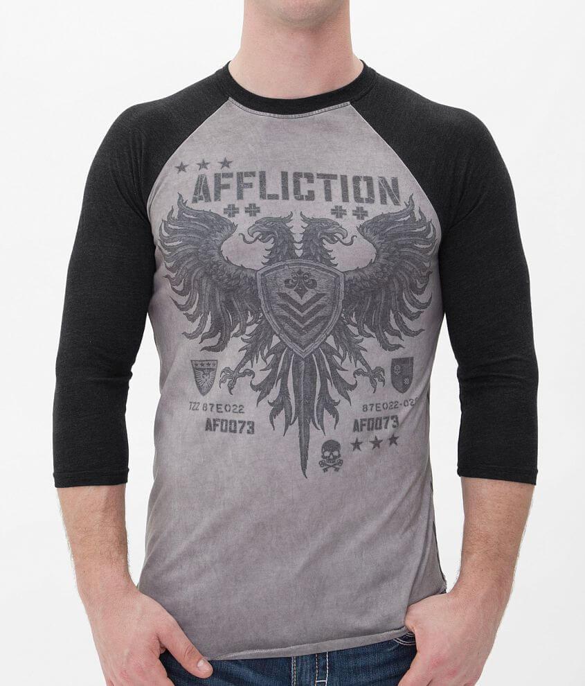 Affliction Mass Value T-Shirt front view
