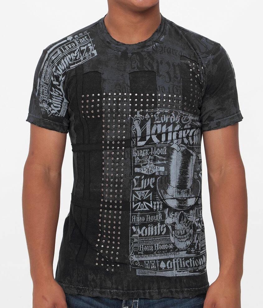 Affliction Vengeance T-Shirt front view